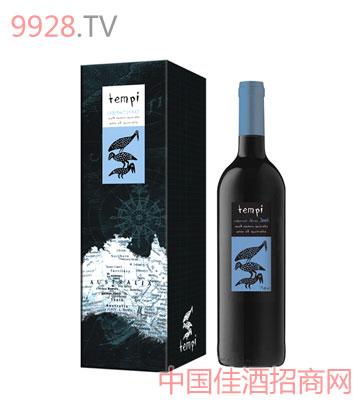 天湃卡百纳.西拉兹干红葡萄酒