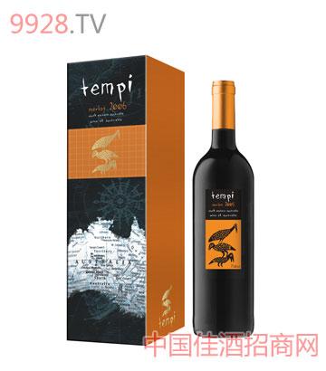 天湃梅洛干红葡萄酒