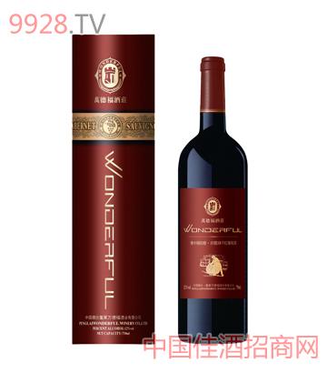 橡木桶赤霞珠干红葡萄酒(圆筒)