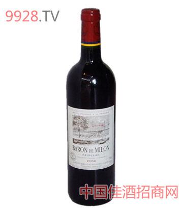 美隆拉菲2004葡萄酒