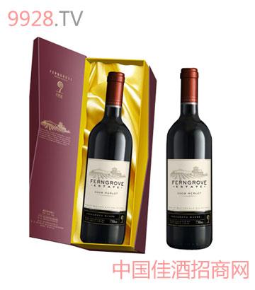庄园美乐葡萄酒