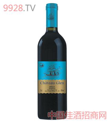 崴堡庄园美乐干红葡萄酒