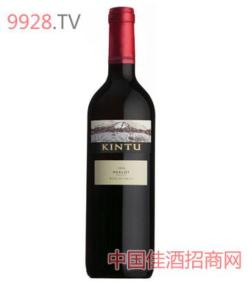 肯图美乐干红葡萄酒
