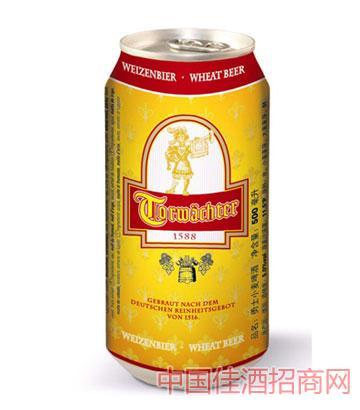 勇士白啤酒500ml