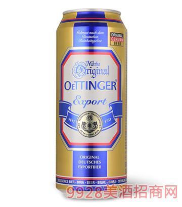 德国奥丁格大麦啤酒500ML