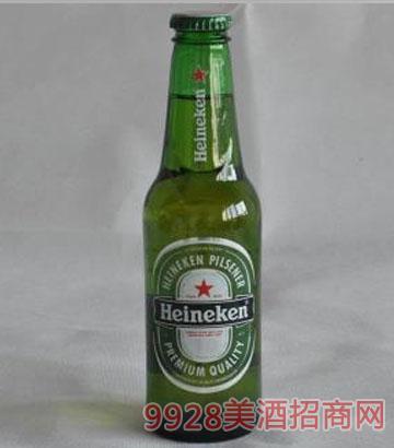 荷兰原瓶进口喜力(250毫升)啤酒