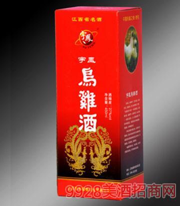 宇凤乌鸡酒精装红盒