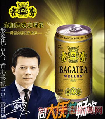 BJ010-12度330ml布加迪金罐啤酒