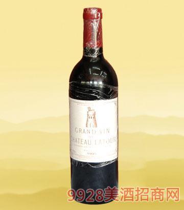 法国拉图庄园-正牌1995年葡萄酒