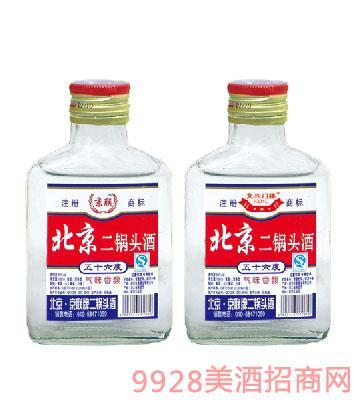 北京二锅头56度100ml酒