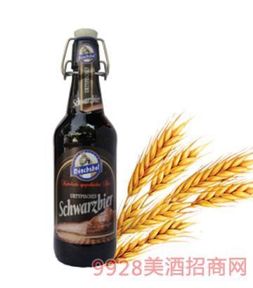 猛士黑啤500ml瓶装啤酒
