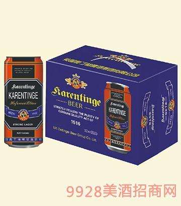 奥丁格啤酒1516罐装(蓝)500mlx12