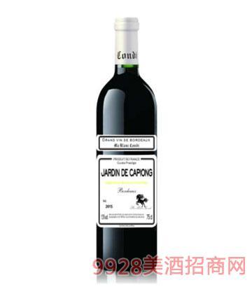 白马康帝三塔庄园干红葡萄酒