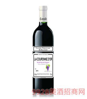 白马康帝金冠干红葡萄酒