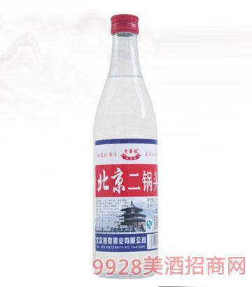 京华楼北京二锅头酒56度500ml清香型
