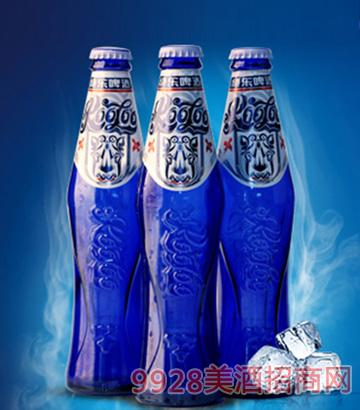 10度绝乐啤酒白啤瓶装