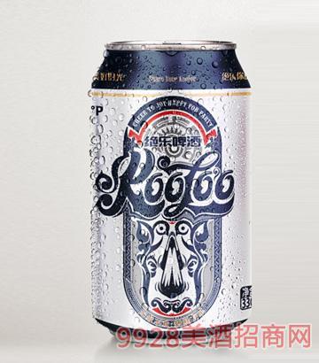 9度绝乐啤酒听装330ml