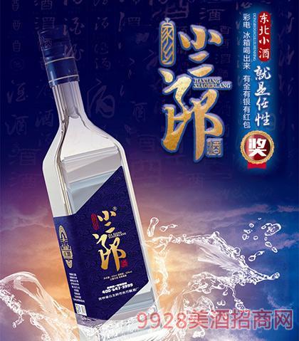 小二郎酒蓝柔白酒42度450ml