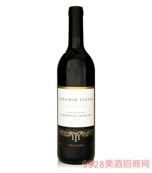 露纹庄序曲赤霞珠梅洛葡萄酒