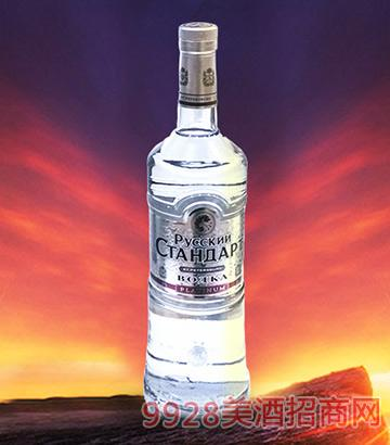 俄罗斯斯丹达典范银版伏特加酒