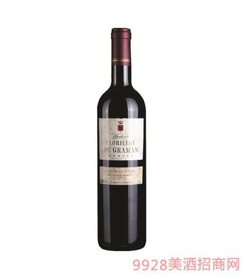 法国波尔多龙舞卡斯特庄园干红葡萄酒 2011