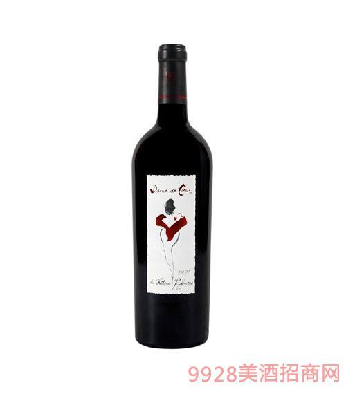 法国波尔多爽地百通庄园干红葡萄酒 2007