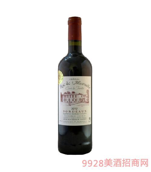 法国波尔多黑猫脷庄园干红葡萄酒 2008