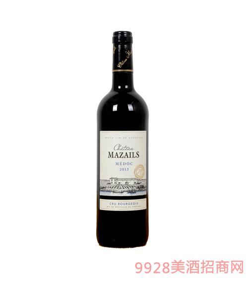法国波尔多加高仕庄园干红葡萄酒 2005