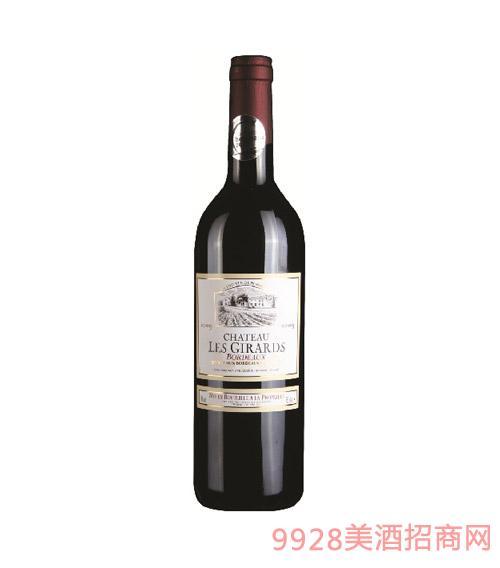 法国波尔多卡朗德罗庄园干红葡萄酒 2012