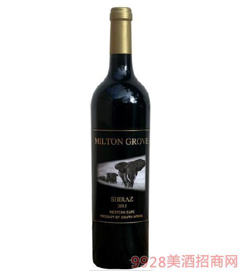 南非迷途设拉子精选干红葡萄酒