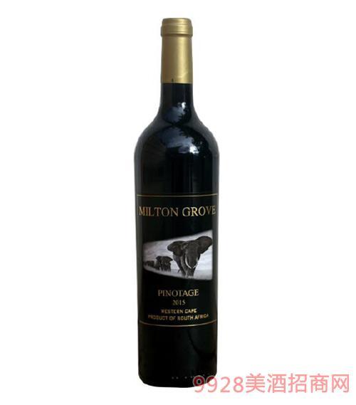 南非迷途皮诺塔基优质干红葡萄酒