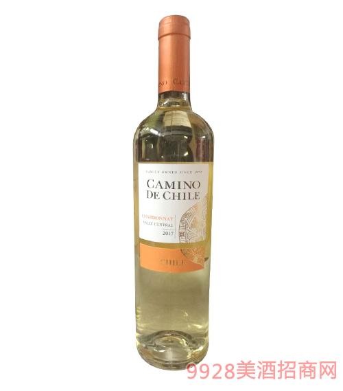 智利嘉米诺长相思精选干白葡萄酒13.5度750ml