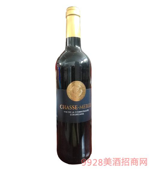 法国采斯普林干红葡萄酒12度750ml