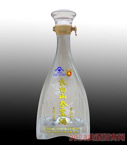 长白山参宝保健酒500ml白瓶