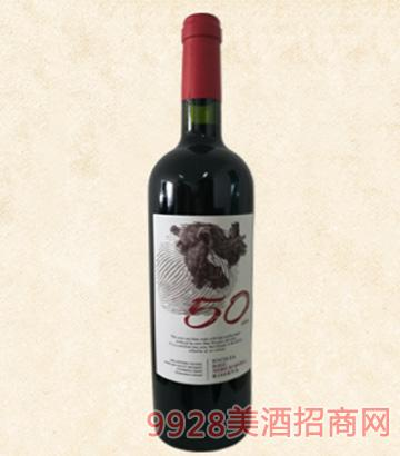 意大利50年老藤黑珍珠五月花酒庄红酒