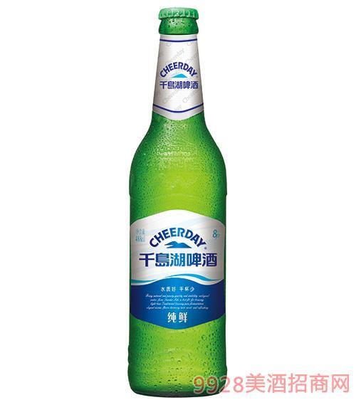 千岛湖啤酒8度488ml纯鲜