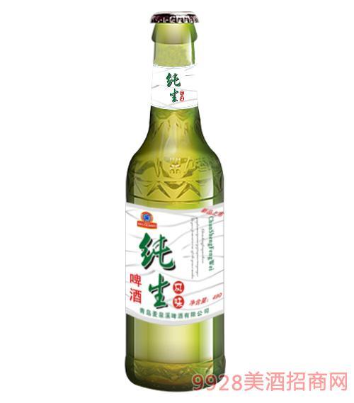 纯生啤酒490ml