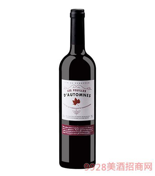 法国莱弗耶红叶精选干红葡萄酒