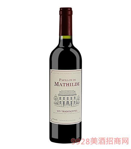 法国玛蒂古堡精选干红葡萄酒