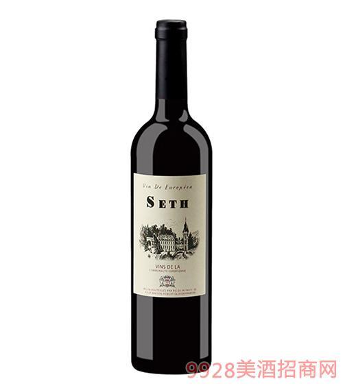 法国赛思精选干红葡萄酒