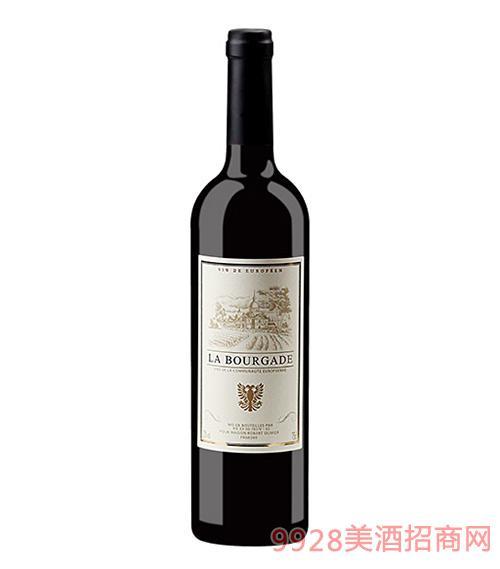 法国布尔加德干红葡萄酒