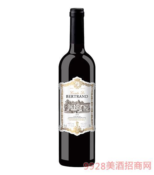 法国贝尔特朗伯爵干红葡萄酒