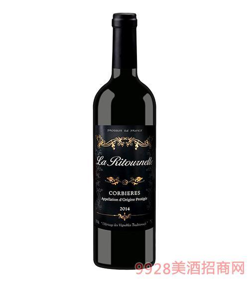 法国派图菲乐干红葡萄酒