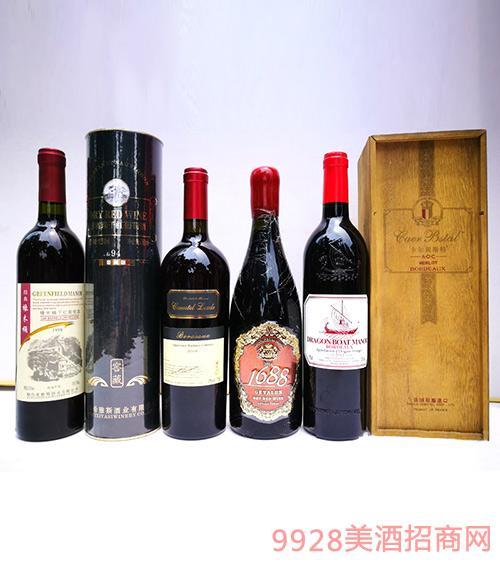 法国进口红酒系列
