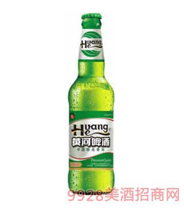 黄河挑战啤酒绿标500ml