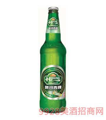 黄河啤酒绿色青稞啤酒518ml