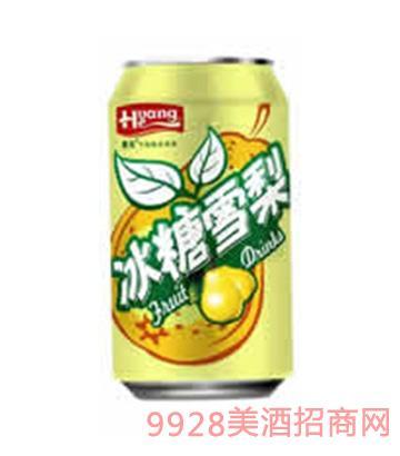 黄河啤酒冰糖雪梨易拉罐330ml