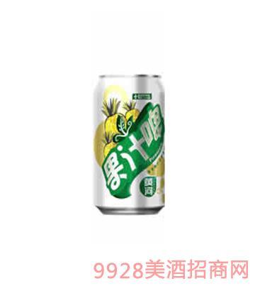 黄河果汁啤易拉罐330ml