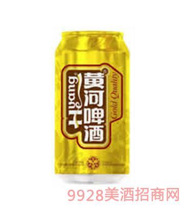 黄河啤酒纯生态易拉罐(金罐)330ml