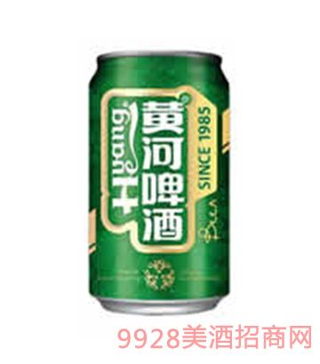 黄河啤酒纯生态易拉罐330ml